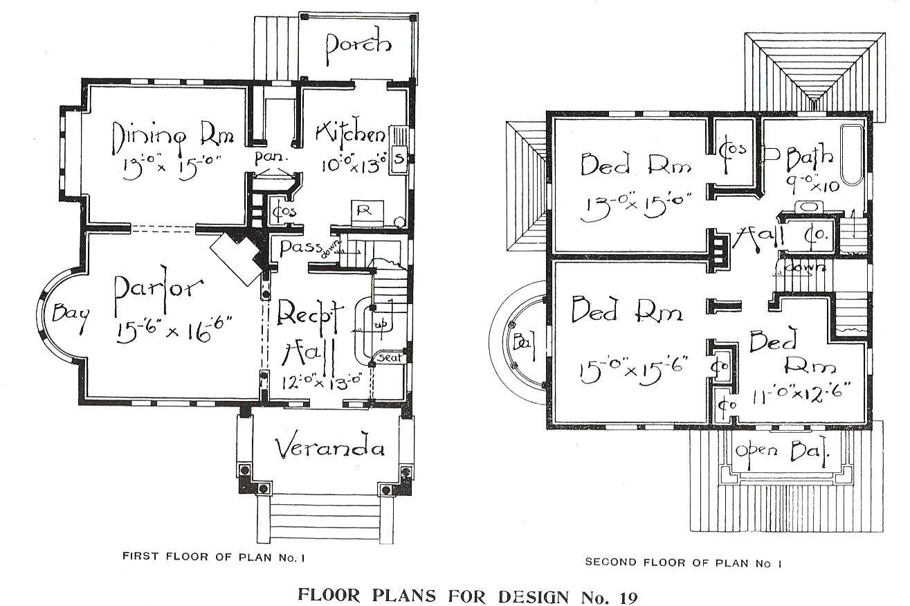 George f barber homes for 1900 victorian house plans