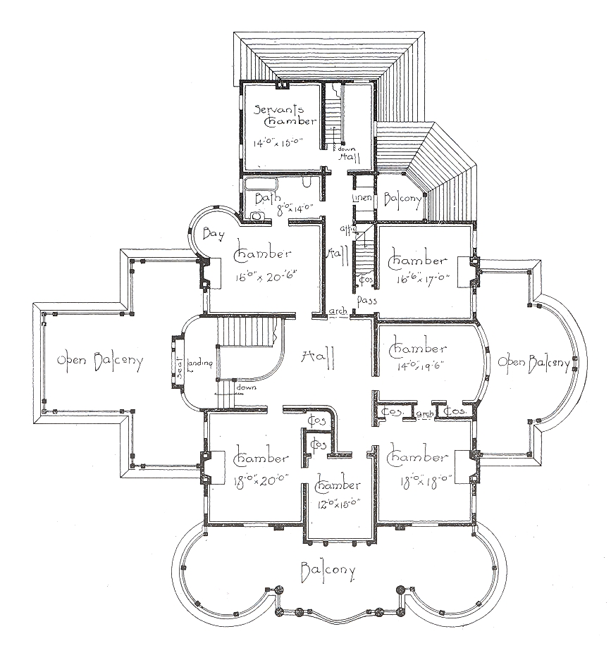 Blueprint on pinterest floor plans house plans and for Classic colonial home plans