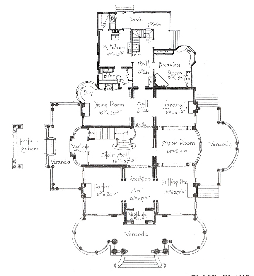 George f barber homes for Classic homes floor plans