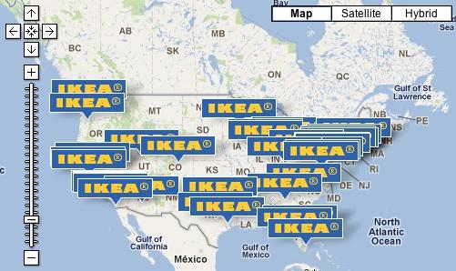 Ikea Us Locations Map