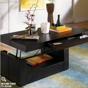 lift coffee table plans